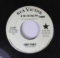 Pop Promo 45 Al (He'S The King) Hirt - Fancy Pants / Star Dust On Rca Victor