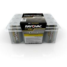"12 Rayovac ""D"" Cell  Alkaline Batteries Fresh Exp 2021"