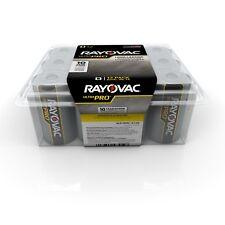 "12 Rayovac ""D"" Cell Alkaline Batteries Fresh Exp 2021"