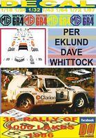DECAL MG METRO 6R4 PER EKLUND 1000 LAKES R. 1986 7th (01)