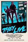 Внешний вид - John Carpenter's They Live movie poster (b) - Roddy Piper  - 11 x 17 inches
