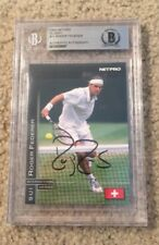 Roger Federer Signed 2003 NETPRO Rookie Card Beckett Certified Tennis