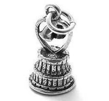 925 Sterling Silver 3D Wedding Cake Charm