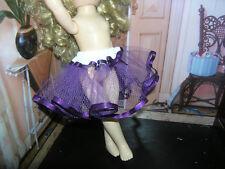 "Purple Nylon Net Slip Petticoat Crinoline 14"" Doll clothes fits Ideal Toni P-90"