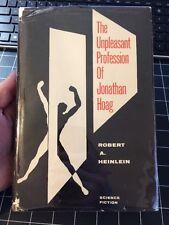 The Unpleasant Profession Of Jonathan Hoag By Robert Heinlein 1st Edition Rare