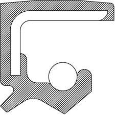 Engine Crankshaft Seal-VIN: E, Eng Code: AAA, VR6 Front 1108