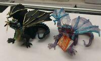 Lot of 2 Cloud Dragon & Fog Dragon Safari Figures with tags