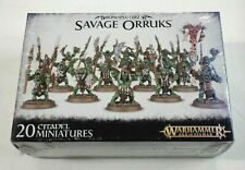 Warhammer Age of Sigmar Bonesplitterz Savage Orruks Box Set / Sealed GW