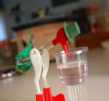 US Cute Drinking Water Bird Novelty Glass Desktop Decor Happy Duck Bobbing Toy