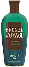 Emerald Bay BRONZE VOYAGE Smooth Bronzer Sunbed Lotion 250ml Same Day Dispatch