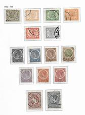 1904 USED Curaçao NVPH  29-43