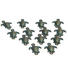 10pcs Vintage Bronze Verdigris Tortoise Turtle Charms Beads DIY Bracelet 20*14mm