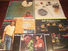 BILL WITHERS AUDIOPHILE SET 180 GRAM 5 LPS HITS LIVE I AM STILL BILL ADJUSTMENT