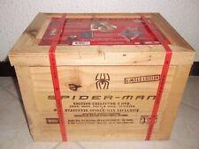 SPIDERMAN 2002 DVDBOX collector woodenbox / NEW NEUF UNOPEN /BOX DVD Fra/