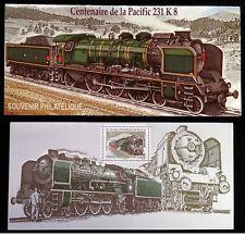 "France ""RAILWAYS ~ LOCOMOTIVE ~ CENTENARY OF PACIFIC 231 8K"" MNH MS Pres Pk 2012"