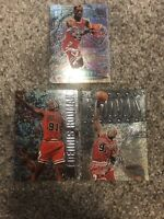 Dennis Rodman Fleer Metal Lot Chicago Bulls The Last Dance
