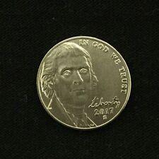 2017 S 225th Anniversary Enhanced Uncirculated Jefferson Nickel  Gem BU