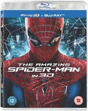 The Amazing Spider-Man  3D Blu-ray  [2012] [Region Free]   Brand new and sealed