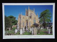 WF02 - DUNFERMLINE ABBEY FIFE SCOTLAND TOMB KING ROBERT THE BRUCE 2003 POSTCARD