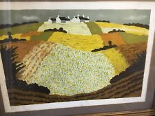 ANDRE EVEN LIMITED EDITIONS HAND SIGNED LANDSCAPE LITHOGRAPH WITH C.O.A.