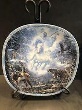 Visions Of The Sacred Snow Rider by Linda Medaris Eagle Deer Bear Plate