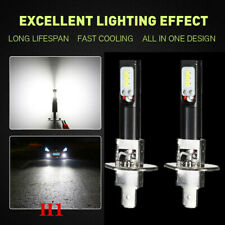 2PCS H1 6500K 80W Car Super White High Power LED Fog Light Driving Bulbs DRL Kit