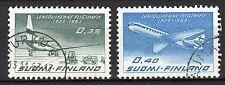 Finland - 1963 40 years Finnair  - Mi. 580-81 VFU