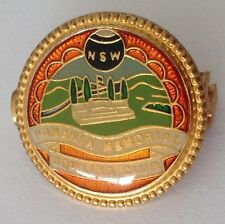 Panania Memorial Bowling Club Badge Pin Lawn Bowls (M23)