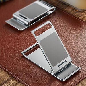 ULTRA-THIN FOLDABLE PHONE HOLDER BRACKET PORTABLE TABLET STAND HOME SUPPLIES