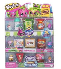 Shopkins New Families in Collectible Mini Pack - 16 Piece Set