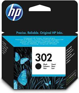 HP 302 Schwarz Original Druckerpatrone Officejet 3830 3831 3832 3833 3834 4650