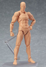 Figma Archetype Next: He Flesh Color Action Figure Nude Model AUTHENTIC
