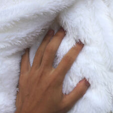 "White PV plush velvet fabric faux fur fabric Photography backdrops 60"" BTY"