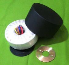 350V x2 & 6.3V x2 200VA Low Noise Tube Power Transformer + Cover p/n AS-2T350C