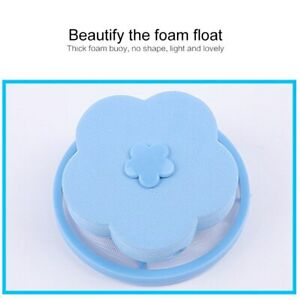4 Pcs Floating Pet Fur Catcher Laundry Lint New Hair Remover For Washing Machine