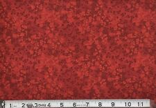 "108"" Quilt Backing Beautiful Razzle Dazzle Tonals Red !!!!!"