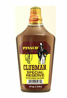 PINAUD CLUBMAN SPECIAL RESERVE AFTER SHAVE COLOGNE  6 FL. OZ.