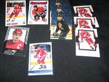 LOT (10) STEVE YZERMAN NHL STAR LEGEND AUTHENTIC VINTAGE HOCKEY CARDS NICE!!!