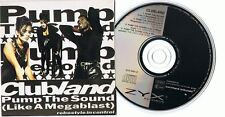 Clubland - Pump The Sound (Like A Megablast) - Maxi-CD ZYX 6461-8 Coco Race