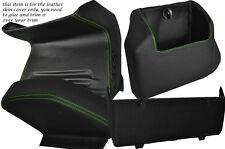 Green stitch quatre pièces inférieur kit de dash couvre fits VW T4 Transporter Caravelle