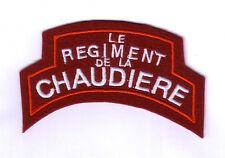 WWII - Title Rt DE LA CHAUDIERE (Reproduction)