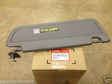 Genuine OEM Honda Civic Driver's Dark Atlas Gray Sunvisor 06-08 83280-SNA-A01ZA