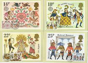 6 FEBRUARY 1981 FOLKLORE SET OF PHQ CARDS 49 HOUSE OF LORDS CDS