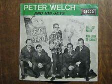 PETER WELCH AND HIS JETS 45 TOURS BELGE ELLE EST PARTIE