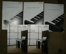 KAWAI Digital Piano ES8 + ES 100 + ES 110 brochures lot
