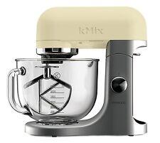 Kenwood KMIX KMX52 Creme mit Zubehör und GLASSCHÜSSEL EDITION 5L Küchenmaschine