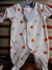 BRAND>NEW>BOYS/GIRLS>FLEECEY>PUMPKINS>NEWBORN>ROMPER>SUIT>OR>PLAYSUIT