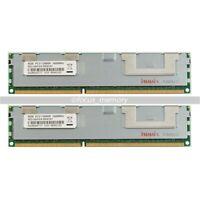 16GB 2X8GB DDR3 2RX4 PC3-12800R 240-Pin 1600MHz ECC REG Registered server memory