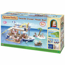 SYLVANIAN Families Seaside Cruiser House Boat 5206