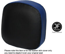 Vinilo Negro Azul Real Personalizado se ajusta a Honda F6C Valkyrie respaldo 96-05 Cubierta de asiento